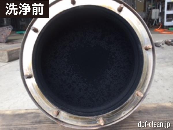日野レンジャー[4t]洗浄前DPF